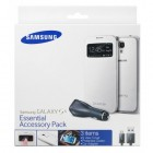 GALAXY S4 ESSENTIAL ACCESSORY PACK(S-VIEW COVER. PROTECTIVE COVE