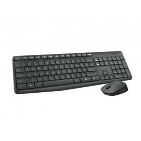 Logitech MK235 - Σετ Πληκτρολόγιο & Ποντίκι Ελληνικό - Aσύρματο 920-007915