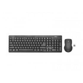 TRUST - Ziva Wireless GR Keyboard with mouse - Ασύρματο 22121