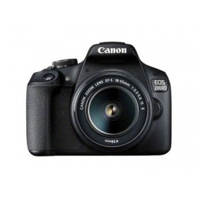 CANON EOS 2000D +EF-S 18-55mm IS II  - κάμερα DSLR - Μαύρο 2728C028AA