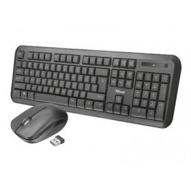 TRUST - Nova Wireless GR Keyboard with mouse - Ασύρματο 23015