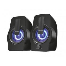 TRUST - Gemi RGB 2.0 Speaker Set - black - Μαύρο 22948