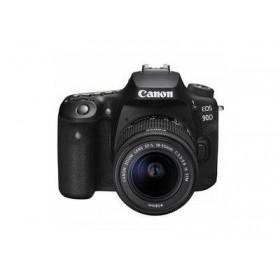 CANON EOS 90D EF 18-55S RUK/SEE  - κάμερα DSLR - Μαύρο 3616C030AA