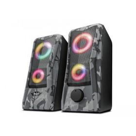 TRUST - GXT 606 Javv RGB-Illuminated 2.0 Speaker Set - 12W 23379