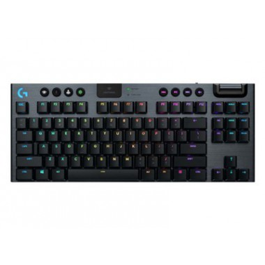 LOGITECH G915 TKL Lightspeed RGB Clicky Low Profile  - Gaming Keyboard - Aσύρματο (US) 920-009503