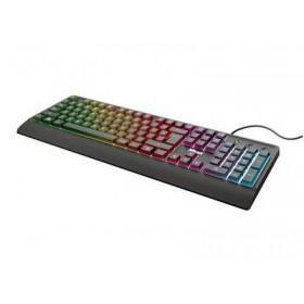 TRUST - Ziva Gaming Rainbow LED Keyboard - GR layout - Ενσύρματο 24102