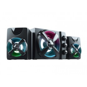 TRUST - Ziva RGB Illuminated 2.1 Gaming Speaker Set - 22W 23644