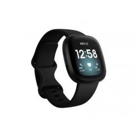 FITBIT Versa 3 Smartwatch - Μαύρο FB511BKBK