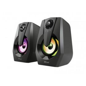 TRUST - Ziva RGB Illuminated 2.0 Gaming Speaker Set - 12W 24071