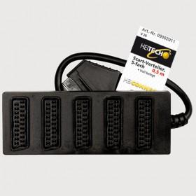 HEITECH SCART DISTRIBUTOR 5-FOLD 4250040920110