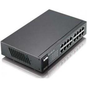 ZYXEL SWITCH GS1100-16, 16 PORTS 10/100/1000Mbps, ENTERPRISE LAN