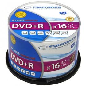 ESPERANZA DVD+R 4,7GBX16 CAKE BOX 50PCS 5905784763309