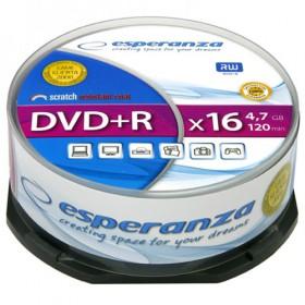 ESPERANZA DVD+R 4,7GBX16 CAKE BOX 25PCS 5905784763316
