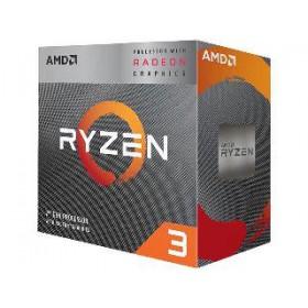 AMD CPU RYZEN 3 3200G, 4C/4T, 3.6-4.0GHz, CACHE 2MB L2+4MB L3, SOCKET AM4, RADEON VEGA 8 PROCESSOR GRAPHICS, BOX, 3YW.