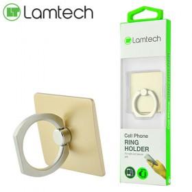LAMTECH MOBILE RING HOLDER GOLD 8718858443413