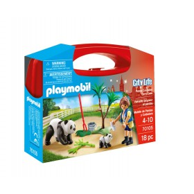 Playmobil Βαλιτσάκι Φροντίζοντας τα πάντα 4008789701053