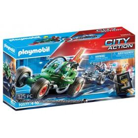 Playmobil Αστυνομική καταδίωξη Go-Kart 4008789705778