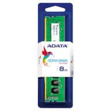 ADATA RAM DIMM 8GB AD4U266638G19-S, DDR4, 2666MHz, CL19, SINGLE TRAY, LTW