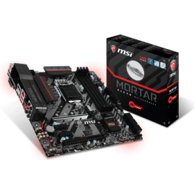 MSI MB B250M MORTAR, SOCKET INTEL LGA1151, CS INTEL B250, 4 DIMM SOCKETS DDR4, DVI-D/HDMI/DISPLAY PORT, LAN INTEL GAMING i219-V GIGABIT, MICRO-ATX, GAMING, 3YW.