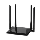 EDIMAX ROUTER BR-6476AC, AC1200 WIRELESS 11AC CONCURRENT DUAL BAND ROUTER WITH 4 PORTS SWITCH, ACCESS POINT, RANGE EXTENDER, WISP, 4 HIGH GAIN ANTENNA, 2YW.