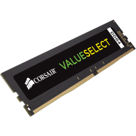 CORSAIR RAM DIMM 4GB CMV4GX4M1A2400C16, DDR4, 2400MHz, LTW.