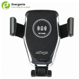 ENERGENIE CAR SMARTPHONE HOLDER WITH WIRELESS CHARGER 10W 8716309109949
