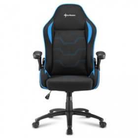 SHARKOON GAMING CHAIR SHARK ELBRUS 1 BLACK/BLUE, 1YW.