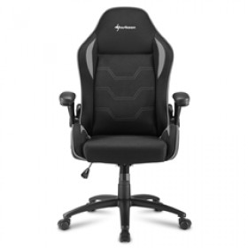 SHARKOON GAMING CHAIR SHARK ELBRUS 1 BLACK/GREY, 1YW.