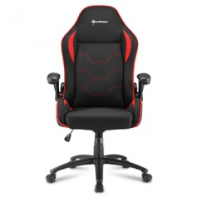 SHARKOON GAMING CHAIR SHARK ELBRUS 1 BLACK/RED, 1YW.