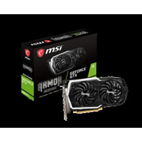 MSI VGA PCI-E NVIDIA GF GTX 1660 Ti ARMOR 6G OC, 6GB/192BIT, GDDR6, HDMI/3x DISPLAY PORT, 2 SLOT FANSINK, 3YW.