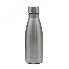 H2O Bottle single stainless steel 500ml Steel 8033830285899