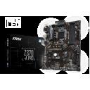 MSI MB Z370-A PRO, SOCKET INTEL LGA1151 8th GEN, CS INTEL Z370, 4 DIMM SOCKETS DDR4, DVI-D/VGA/DP, LAN REALTEK RTL8111H GIGABIT, ATX, 3YW.