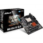 ASROCK MB N68-GS4 FX R2.0, SOCKET AMD AM3+/AM3, CS NVIDIA GF 7025 & NFORCE 630A, 2 DIMM SOCKETS DDR3, VGA NVIDIA GF 7025 SHARED MEM, VGA, LAN GIGABIT, MICRO-ATX, 2YW.