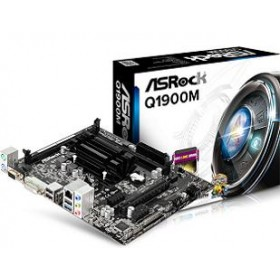 ASROCK MB Q1900M, ON BOARD CPU INTEL CELERON QUAD CORE J1900, 2