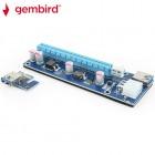 GEMBIRD PCI-EXPRESS RISER ADD ON CARD 6PIN POWER CONNECTOR 8716309100465
