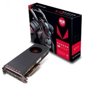 SAPPHIRE VGA PCI-E RADEON RX VEGA 56 8G (21276-00-20G), 8GB/2048BIT, HBM2, HDMI/3xDISPLAY PORT, 2 SLOT FANSINK, 3YW.
