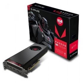 SAPPHIRE VGA PCI-E RADEON RX VEGA 64 8G (21275-02-20G), 8GB/2048BIT, HBM2, HDMI/3xDISPLAY PORT, 2 SLOT FANSINK, 3YW.