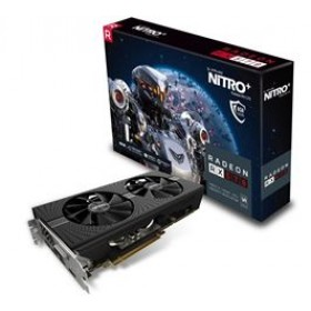 SAPPHIRE VGA PCI-E RADEON NITRO+ RX 570 8G (11266-09-20G), 8GB/256BIT, GDDR5, DVI-D/2xHDMI/2xDISPLAY PORT, 2 SLOT SINGLE FAN, 3YW.