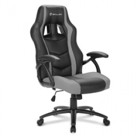 SHARKOON GAMING CHAIR SHARK SKILLER SGS1, BLACK/GRAY, 1YW.