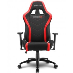 SHARKOON GAMING CHAIR SHARK SKILLER SGS2 BLACK/RED, 1YW.