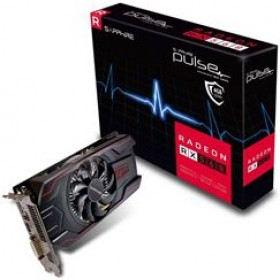 SAPPHIRE VGA PCI-E RADEON PULSE RX 560 4G (11267-18-20G), 4GB/128BIT, GDDR5, DVI-D/HDMI/DISPLAY PORT, 2 SLOT SINGLE FAN, 3YW.