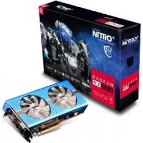 SAPPHIRE VGA PCI-E RADEON NITRO+ RX 590 8G OC (11289-05-20G), 8GB/256BIT, GDDR5, DVI-D/2xHDMI/2xDISPLAY, 2 SLOT DUAL-X FAN, 3YW.