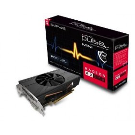 SAPPHIRE VGA PCI-E RADEON PULSE ITX RX 570 4G (11266-34-20G), 4GB/256BIT, GDDR5, DVI-D/HDMI/DISPLAY PORT, 2 SLOT SINGLE FAN, 3YW.