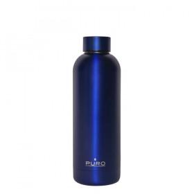 Puro Hot Cold Matt Bottle 500ml - Μπλε 8033830282836