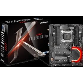 ASROCK MB X299 KILLER SLI/AC, SOCKET INTEL LGA2066, CS INTEL X299, 8 DIMM SOCKETS DDR4, LAN I219-V GIGABIT, ATX, 3YW.