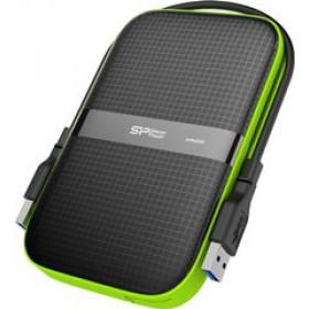 SILICON POWER EXTERNAL HDD 2,5' 2TB ARMOR A60, USB3.1, POWER VIA USB, BLACK, 3YW.