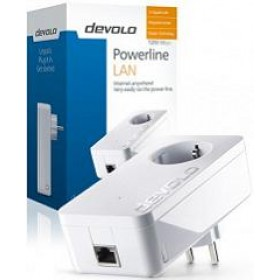 DEVOLO POWERLINE DLAN 1200+ SINGLE (9375), 1x dLAN 1200+ ADAPTER, dLAN 1200Mbps, SHUKO, 3YW.