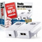 DEVOLO POWERLINE dLAN 1200+ WiFi AC STARTER KIT, 1x dLAN 1200+ WIRELESS ACCESS POINT & 1x dLAN 1200+  ADAPTER, dLAN 1200Mbps, SHUKO, 3YW.