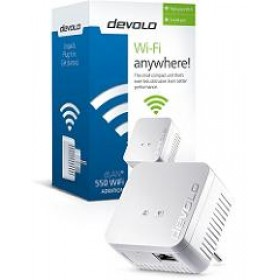 DEVOLO POWERLINE dLAN 550 WiFi SINGLE (9631), 1x dLAN 550 WiFi ADAPTER, dLAN 550Mbps, 3YW.