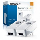 DEVOLO POWERLINE dLAN 550 DUO + STARTER KIT, 2x dLAN 550 DUO+ AD